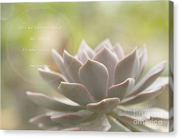 Sacred Garden Canvas Print by Sharon Mau