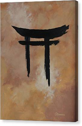 Sacred Ground Canvas Print by Stephen P ODonnell Sr