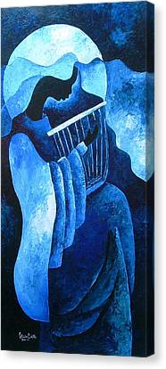 Sacred Melody Canvas Print by Patricia Brintle