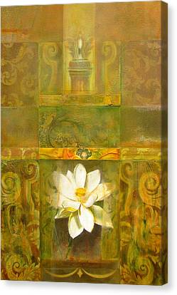 Canvas Print featuring the painting Sacred Places by Brooks Garten Hauschild
