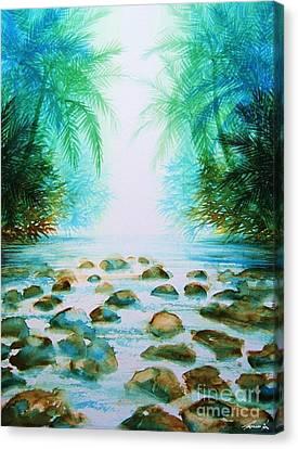 Sacred Pools Canvas Print