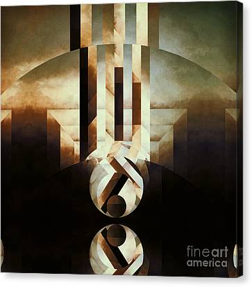 Sacred Reality Canvas Print by Lonnie Christopher
