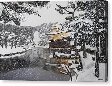 Sacred Snow Canvas Print