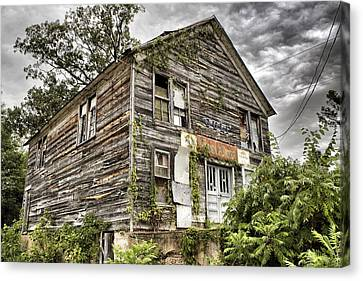 Saddle Store 1 Of 3 Canvas Print by Jason Politte
