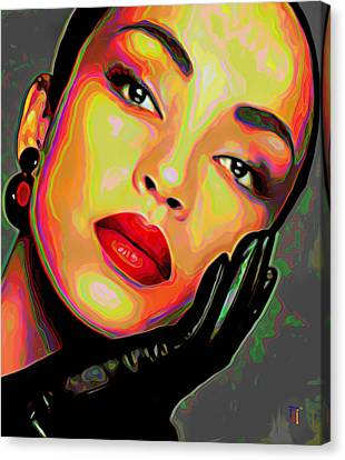 Storm Canvas Print - Sade 4 by Fli Art