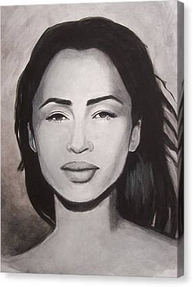Sade Canvas Print by Amber Stanford