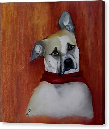 Sadie Canvas Print by Annamarie Sidella-Felts