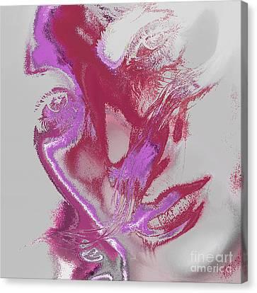 Sadness Canvas Print by Soumya Bouchachi