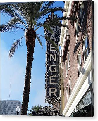Saenger Theater New Orleans				 Canvas Print by Ecinja Art Works