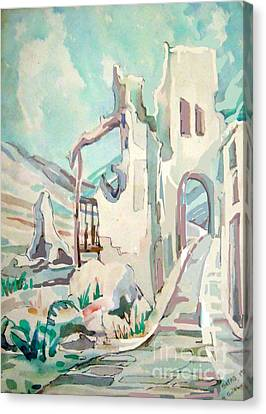 Safed  Israel Canvas Print