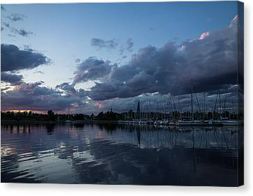 Safe Harbor After The Storm Canvas Print by Georgia Mizuleva