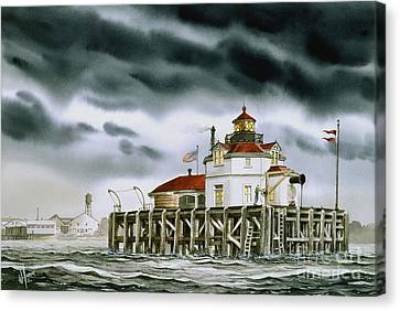 Safe Harbor Light Canvas Print by James Williamson
