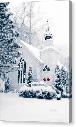 Historic Church Oella Maryland Usa Canvas Print by Vizual Studio