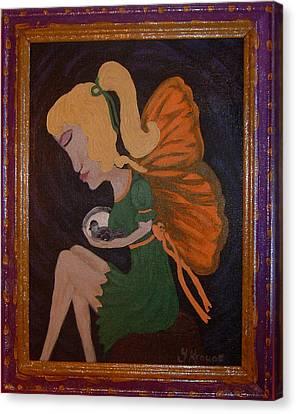 Safe Canvas Print by Yvonne  Kroupa