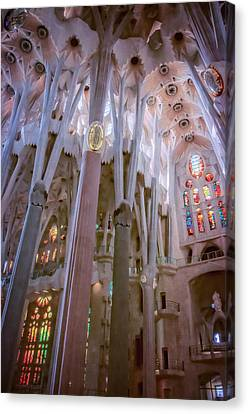 Sagrada Familia Canvas Print by Joan Carroll