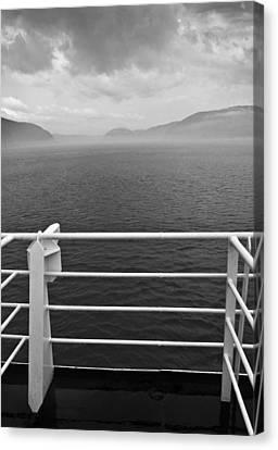 Saguenay Canvas Print by Arkady Kunysz