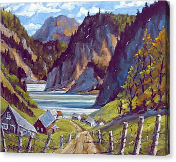 Saguenay Summer By Prankearts Canvas Print by Richard T Pranke