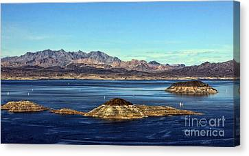 Sail Away Canvas Print by Tammy Espino