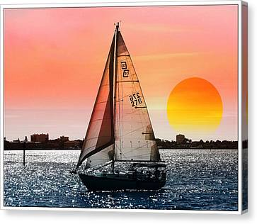 Sail Away With Me Canvas Print by Athala Carole Bruckner