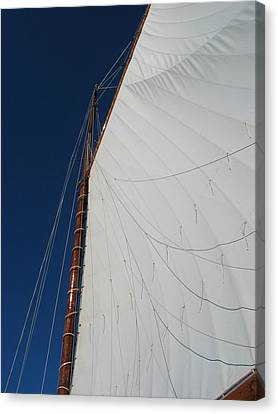 Canvas Print featuring the photograph Sail Away With Me by Photographic Arts And Design Studio