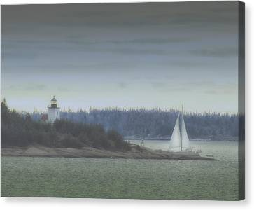 Sail On Canvas Print