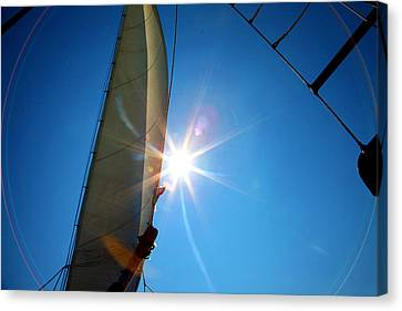 Sail Shine By Jan Marvin Studios Canvas Print
