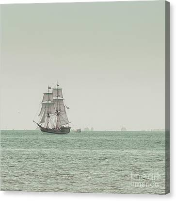 Sail Ship 1 Canvas Print by Lucid Mood
