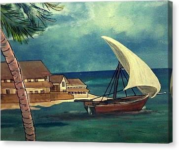 Sail Storm Canvas Print by Richard  Hubal