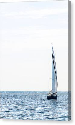 Sailboat Annapolis Canvas Print