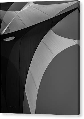 Canvas Print featuring the photograph Sailcloth Abstract Number Eight by Bob Orsillo