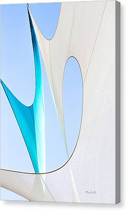 Sailcloth Abstract Number Twenty Canvas Print by Bob Orsillo
