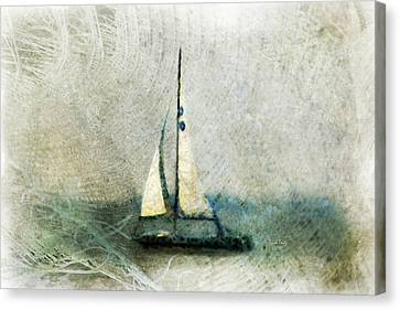 Sailin' With Sally Starr Canvas Print by Trish Tritz