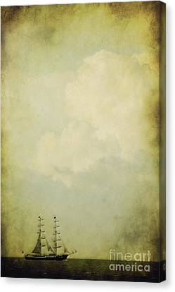 Sailing Canvas Print by Angela Doelling AD DESIGN Photo and PhotoArt