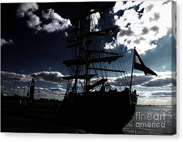 Sailing By Night Canvas Print by Four Hands Art
