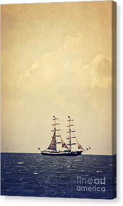 Sailing II Canvas Print by Angela Doelling AD DESIGN Photo and PhotoArt