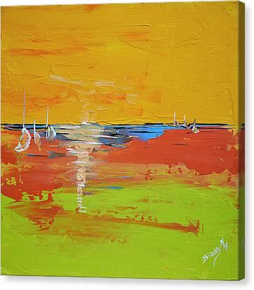Sailing Into Summer Canvas Print