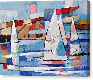 Sailing Joy Canvas Print