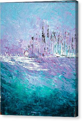 Sailing South - Sold Canvas Print