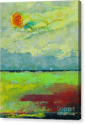 Sailing Thru Color Canvas Print