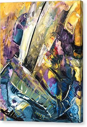 Sailing To Atlantis Canvas Print by Miki De Goodaboom