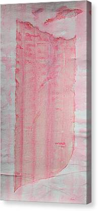 Sailing With Clouds In Pink Canvas Print by Asha Carolyn Young