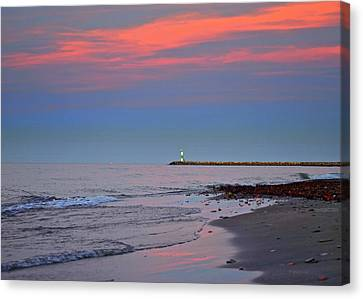 Sailors Guide Canvas Print by Frozen in Time Fine Art Photography