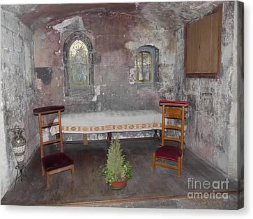 Canvas Print featuring the photograph Saint Aignan Chapel by Deborah Smolinske