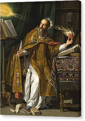 Saint Augustine Canvas Print