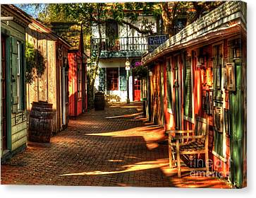 Saint Augustins Fl   028 Canvas Print by C W Hooper