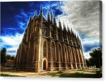 Saint Barbara Church Kutna Hora Canvas Print by Michal Boubin