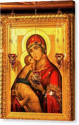 Saint Barbara, Saint Michael Cathedral Canvas Print