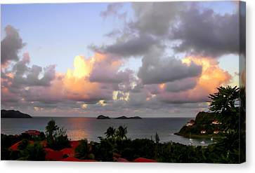 Saint Barthelemy Canvas Print by Karen Wiles