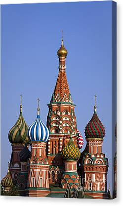 Saint Basil's Cathedral Canvas Print