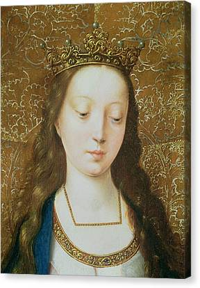 Saint Catherine Canvas Print by Goossen van der Weyden